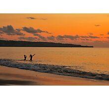 Jimbaran Sunset Photographic Print