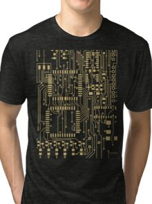 Circuitry design Tri-blend T-Shirt