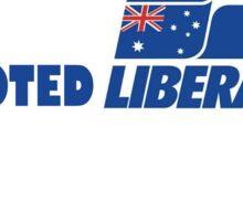 I Voted Liberal Sticker