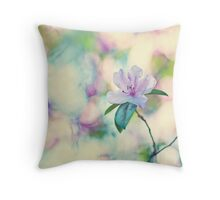Whenever Beauty looks Throw Pillow