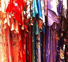 Colorful Kimonos by daphsam