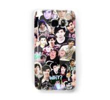 Dan and Phil Collage Print Samsung Galaxy Case/Skin