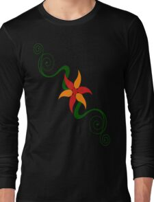 Beautiful vine design Long Sleeve T-Shirt