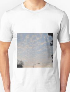 sunset sky Unisex T-Shirt
