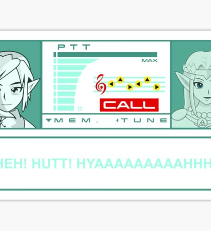 Metal gear Zelda Sticker