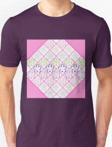 Freckled Flowers Quilt T-Shirt