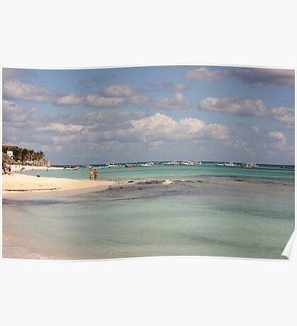 Playa Del Carmen Beach Poster