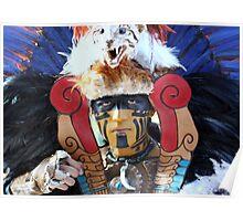 Mayan Warrior Poster