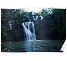 Waterscape - Cedar Creek Falls, QLD Poster