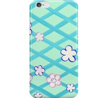 Baby Blue Flower Garden iPhone Case/Skin