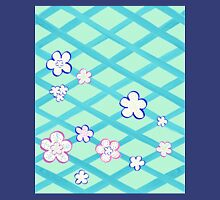Baby Blue Flower Garden Unisex T-Shirt