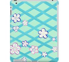 Baby Blue Flower Garden iPad Case/Skin