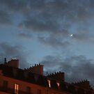 Night Falls on Paris by Virginia Kelser Jones