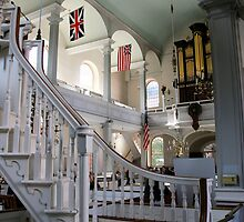 Inside Old North Church by djphoto