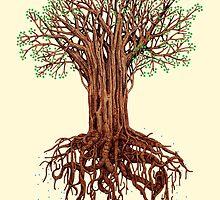 Tree Tee by Muzich