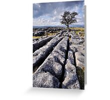 The Yorkshire Dales - Limestone Country Greeting Card