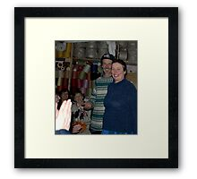 The Flax Mill..Herman and Marion Baur Framed Print