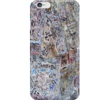 Autograph Wall iPhone Case/Skin