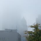 Foggy morning downtown by zpawpaw