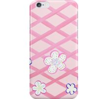 Baby Pink Flower Garden iPhone Case/Skin