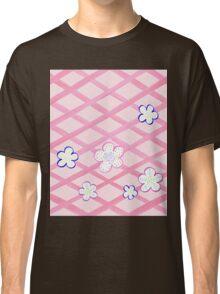 Baby Pink Flower Garden Classic T-Shirt