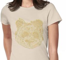 Forest Panda Tee Womens Fitted T-Shirt