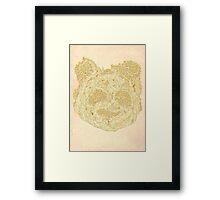 Forest Panda Tee Framed Print
