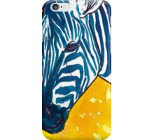Food Color Zebra iPhone Case/Skin