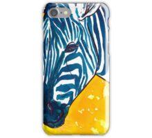 Food Color Zebra iPhone Case/Skin