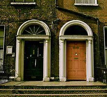 Dublin Doors by Rebecca Lipscomb