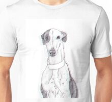 Daisy the Greyhound Dotwork 2 Unisex T-Shirt
