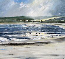 Evening Light Marazion, Cornwall by Sue Nichol