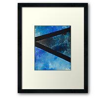 sky bar Framed Print