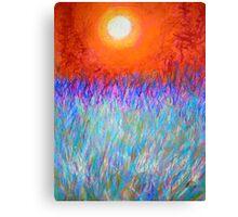 Evening Glory. Canvas Print