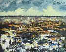Marshland On the Fens by Sue Nichol