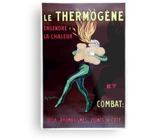 Leonetto Cappiello A fire eater kindling fire in his lungs with the remedy Ther Wellcome L0027813 Metal Print