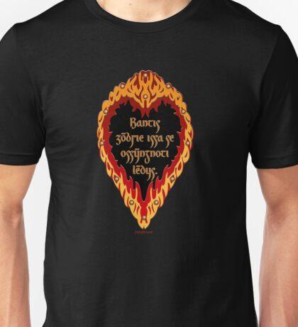 The Night is Dark and Full of Terrors (Valyrian) Unisex T-Shirt