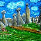 The Sky is a Face of Van Gogh by Gunes Yilmaz