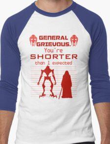You're Shorter Than I Expected Men's Baseball ¾ T-Shirt