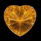 Golden Julia Heart  by Beatriz  Cruz