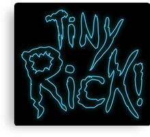 Rick & Morty-Tiny Rick! Canvas Print