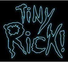 Rick & Morty-Tiny Rick! Photographic Print
