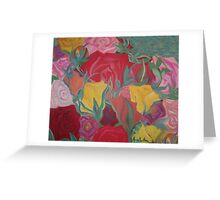 Rosey Bubble Greeting Card