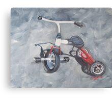 Original Oil Painting - First Wheels Metal Print