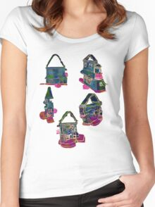 Views of a Dollhouse Women's Fitted Scoop T-Shirt