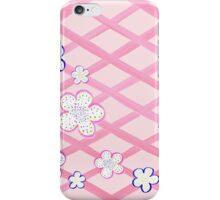 Baby Pink Garden Flowers iPhone Case/Skin