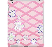 Baby Pink Garden Flowers iPad Case/Skin