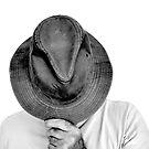 TOM IN PAINTER'S HAT by Thomas Barker-Detwiler