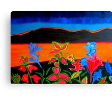 View Across Fence Canvas Print