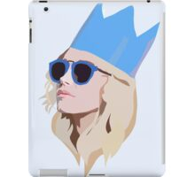 Queen Party Girl with Hat iPad Case/Skin